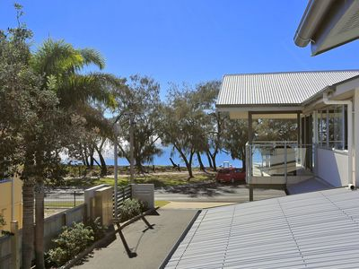 Location Perfect with the beach across the road