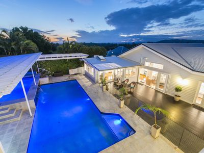 You'll love the outdoor entertaining area with pool, spa & BBQ
