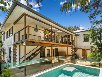 Swimming Pool and Back Deck