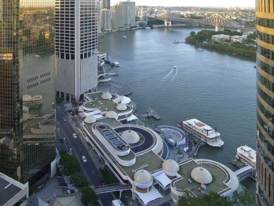 Your View of Eagle Street Pier and the Brisbane River