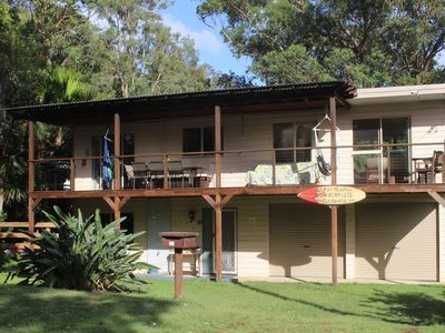 The Good Life awaits you with fabulous deck & views across the beach reserve
