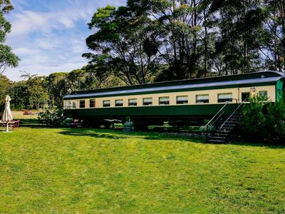 The Angas Carriage - at little forest cottages