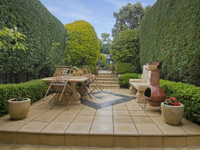 Private Landscaped Backgarden