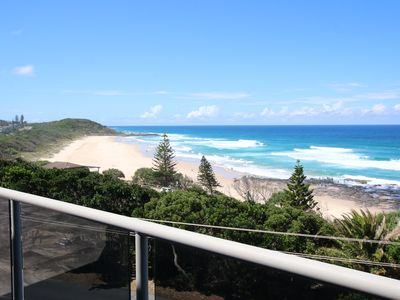 Views over Shelly Beach