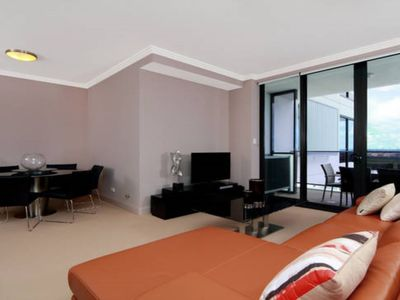 Australia Towers Floor 9 Unit 9.06 - 2 Bedrooms with modern design furniture