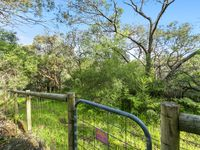 Back gate leads to Nature reserve