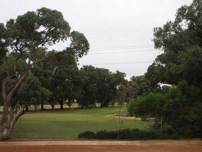 View onto the Spalding Park Golf course.