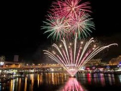 SEE THE FIRE WORKS SATURDAY NIGHTS