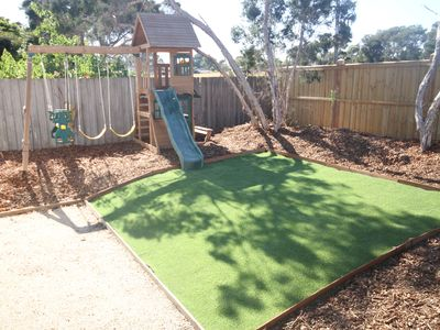 Outdoor play gym. Max weight 50kg per pax