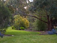 An acre of landscaped gardens