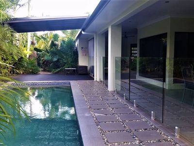 Poolside Tranquility