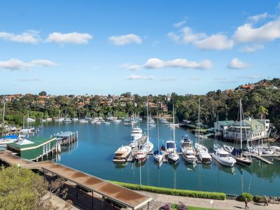 Views across Mosman bay