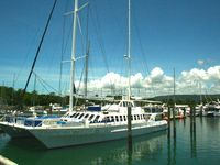 Take a Great Barrier Reef tour or a sunset cruise from the Marina