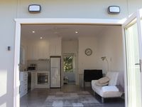 indoors becomes outdoors with large concertina doors