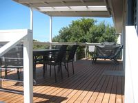 Enjoy the decking and BBQ