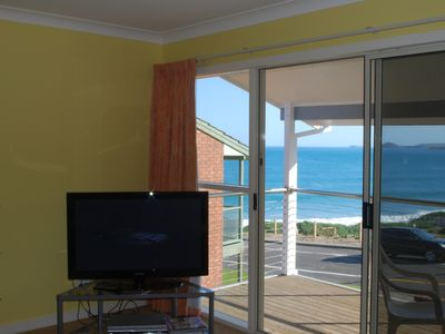 Meridian Port Elliot, fantastic sea views from your balcony and lounge chair