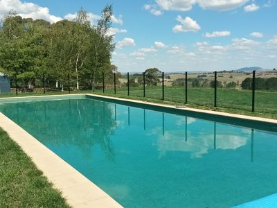 18m Glass Fenced pool