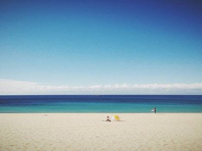Coogee beach on a quiet day