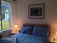 Bedroom 2 with double bed and built in robe