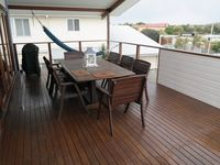 Upstairs Deck with BBQ and Dining