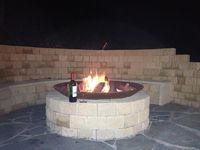 ENJOY A DRINK BY THE FIREPIT, WHILE THE KIDS TOAST MARSHMALLOWS