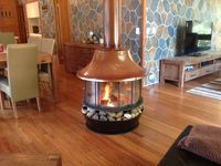 NOTHING LIKE A LOG FIRE PLACE!