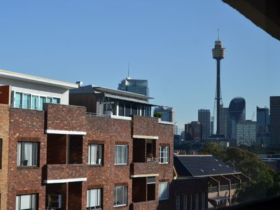 Sydney Tower view from window
