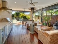 The Lanai Has Plenty of Room For Relaxing or Alfresco Dining