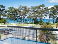 Enjoy uninterrupted views of Jervis Bay from your private balcony.
