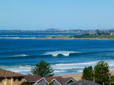 Check the surf before getting out of bed