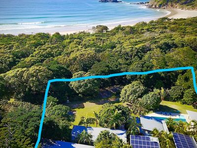 Arguably one of the best beachfront estate in Byron Shire
