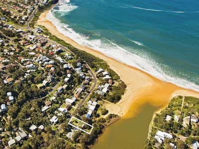Aerial view of property location 3 minutes away from Copacabana beach