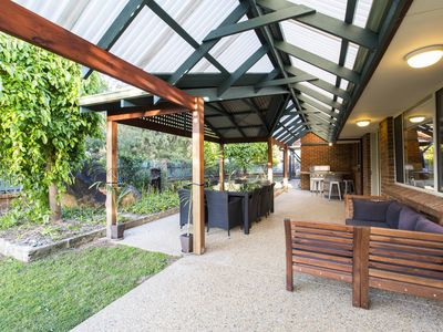 Large Elfresco Outdoor Area With BBQ
