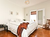 Bedroom 2 - king bed that can be split into singles - opens onto small courtyard