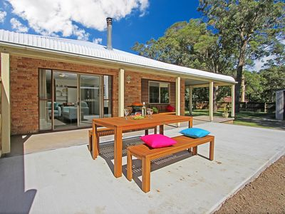 North side verandah and outdoor area