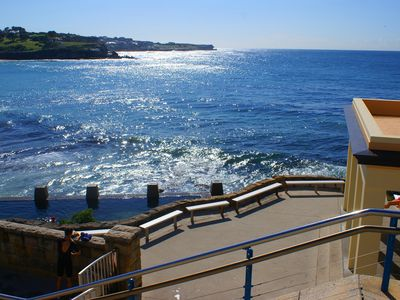 24 steps to Coogee Beach