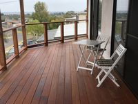 Brand New (10x3 meter) Balcony with beautiful Merbu decking