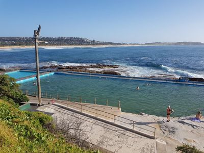 Stunning nearby beaches and rock pools