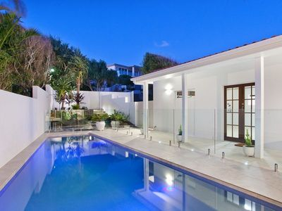 Sunshine Beach property with lap pool