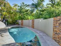 Private swimming pool and outdoor area