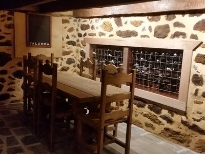 Private Cellar/ Dining room