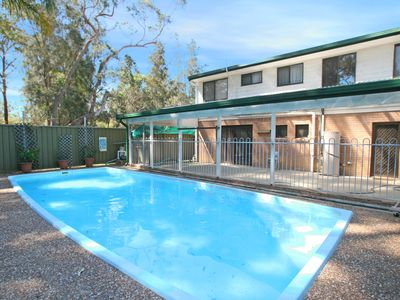 Two storey with pool