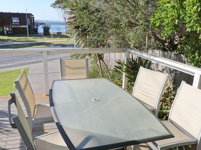 MARINA COTTAGE: Prime position overlooking Bermagui wharf - walk to beach & shop