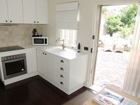 Full kitchen with laundry facilities
