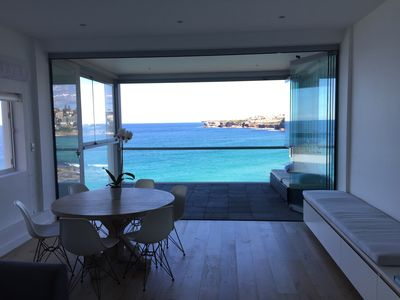 Spectacular views, open plan living area