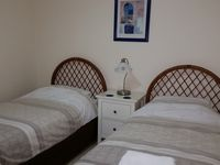 Downstairs twin room can be converted into a king bed (small charge applies)
