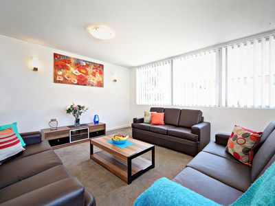 First Living Area, Bright and Spacious