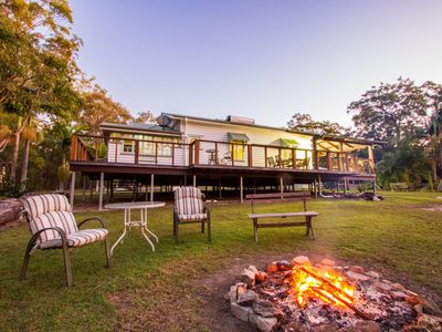 BALLANTINES - Bush n beach acreage retreat