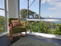 Rocking chair and view