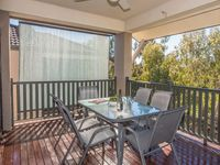 Outdoor Setting with 6 chairs on the Deck